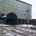Отель зимой