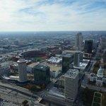 Die Aussicht auf St. Louis von oben