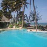 beautiful swimmingpool facing the ocean