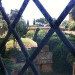 Museo Archeologico di Firenze, i giardini sbarrati