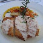 Concierge dinner on the beach: chicken..yum