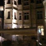 cour de l'hotel