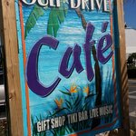 Eat here - breakfast with the dolphins