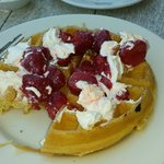 belgium waffle - very yummy