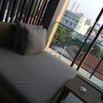 Day bed @ balcony