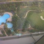 vista piscine dalla camera