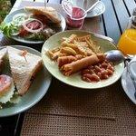 Breakfast is a feast