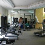фитнес центр в отеле