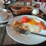 Le petit-déjeuner. (enfin une partie)