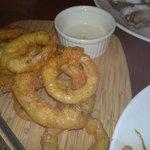 Crispy onions rings