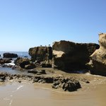 Rock formations on the beach - Heisler Park