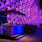 DJ Booth at Skyline bar