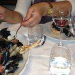 Zuppa di frutti de mare