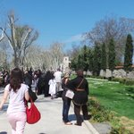 On the way to Topkapi Palace