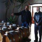 Balsamic vinegar casks