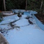 La piscine abandonnée