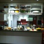 Miele Kitchen breakfast spread