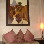 un des salons du Riad