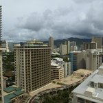 A View From Our Balcony of Waikiki..!