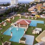 La piscine du Palm Garden