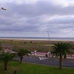 La mer, vue de l'hôtel