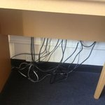 Cables everywhere!