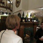Foyer to dining room & Inn Reception