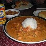 Crawfish Étouffée, Fried Okra, Boudin Burger & Comeaux's Cajun Gold Spice