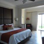 Jr Suite- garden view. Very nice room