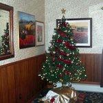 Lovely Christmas Tree in the Restaurant