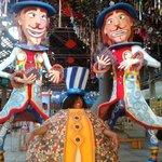 bonecos de carnaval