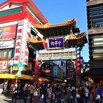 横浜大飯店の横の善隣門