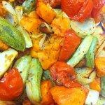coocked vegetables