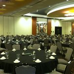A quick pic of the banquet room setup