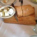 Fresh baked bread at Bear Creek Inne.