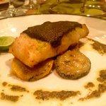 Sea Bass- Delicious Sauce