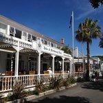 The lovely Duke of Marlborough Hotel