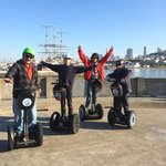 On our City Segway tour, December 14, 2013.