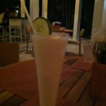 Key Lime Coloda at the bar