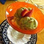 Pistachio homemade Ice Cream - Gluten Free