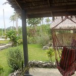 view from the verandah bungalow 5