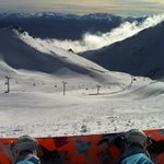 View from top of Remarkables ski area