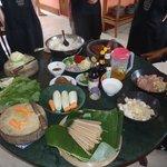 Beautiful selection of food