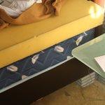 6 inch sponge + 12 inch mattress = an ok bed