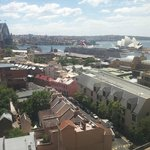 Harbour Bridge and Opera house in one view