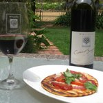 Whistlers own superb 2010 Cab Sauv and lunch