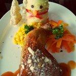 2013 Snowman meal.