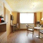 Famlienzimmer / Suite Wohn-/Schlafbereich