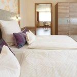 Familienzimmer / Suite Schlafbereich