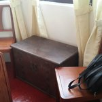 Antique furniture in room